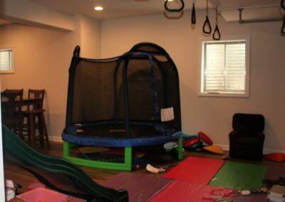 Jungle Gym with Trampoline